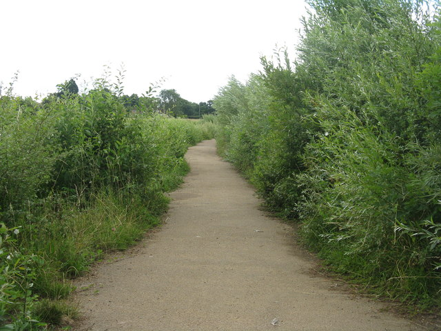 Causeway at Hinchingbrooke
