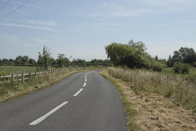 Near the A38