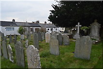 SX4957 : Graves, Church of St Edward by N Chadwick