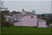 SX4957 : Pink house, Eggbuckland by N Chadwick