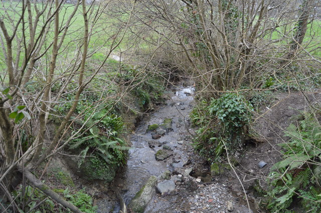 Small stream, Eggbuckland