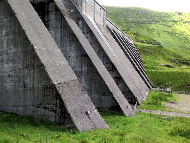 Below Cruachan Dam