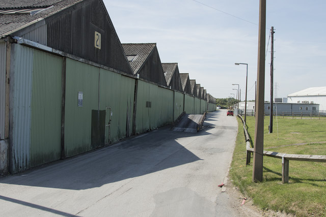 Old warehouses