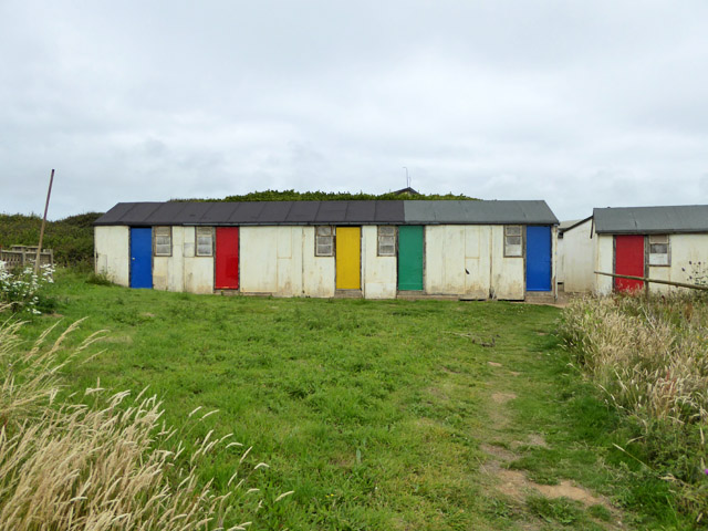 Abandoned cabins, Brighstone Holiday Centre