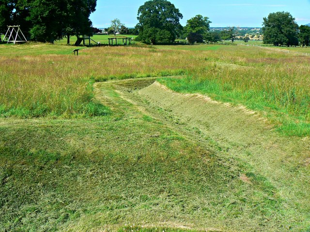 Trench system remains, Bodelwyddan Castle and Park (2)
