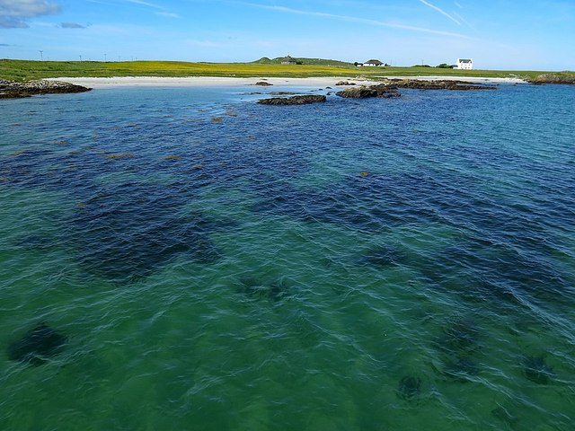 Tiree from ferry pier
