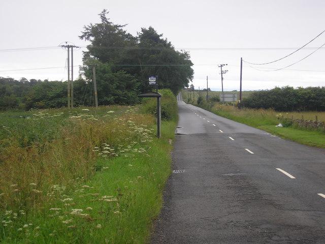 Cairnie Crossroads bus stop