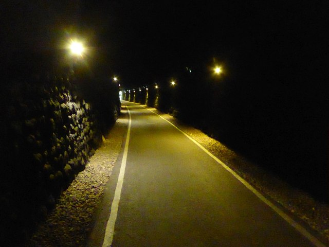 Cyclepath in former railway tunnel