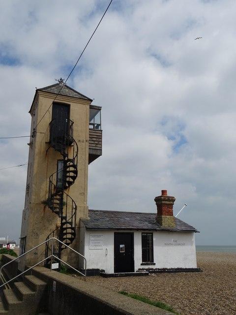 Aldeburgh Beach Suffolk The South Lookout