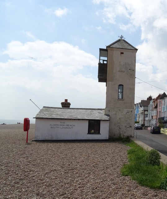 Aldeburgh Beach Suffolk The South Lookout