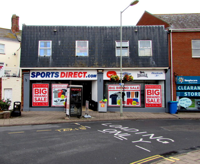 Sports Direct in Exmouth