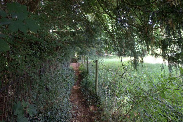 Footpath from Mickleham to the A24