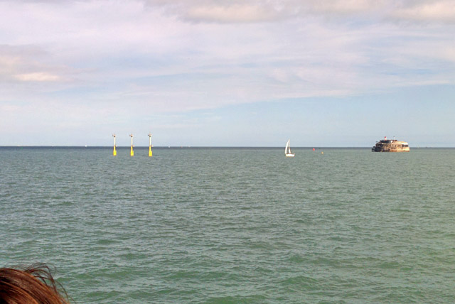 New navigation marks, Portsmouth approaches