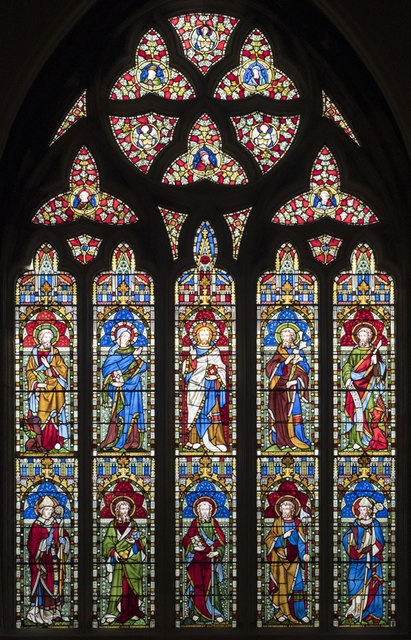 St Paul, Brighton - Stained glass window
