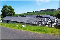 O0721 : Farm buildings, Ballinascorney Upper by P L Chadwick