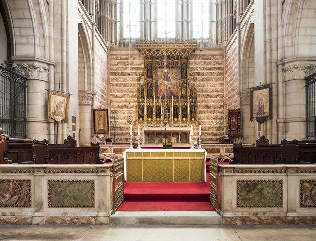 St Michael & All Angels, Brighton - Chancel