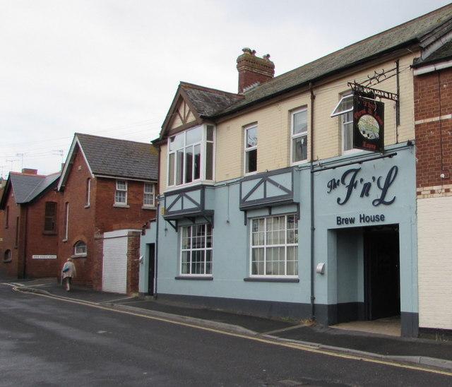 The F 'n' L Brew House, Church Street, Exmouth