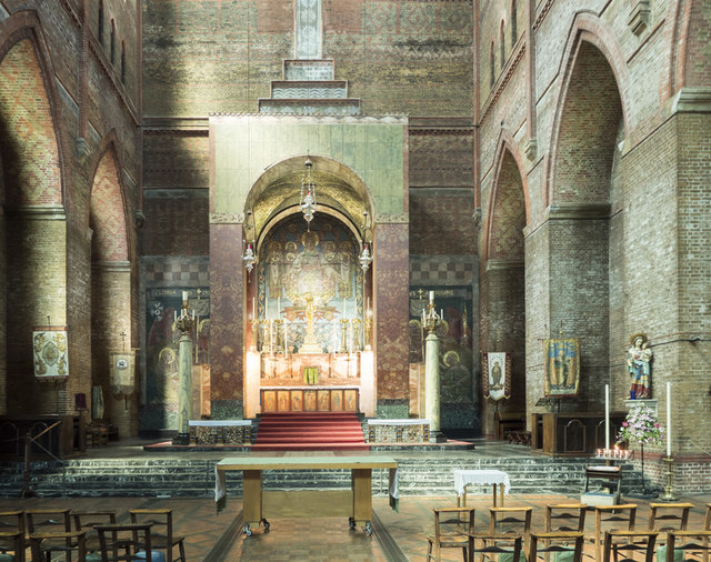 St Bartholomew, Brighton - East end