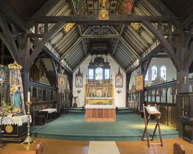 The Annunciation, Brighton - Chancel