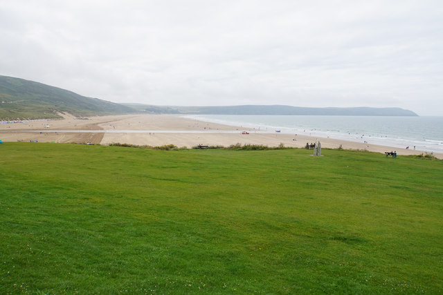 Green above Woolacombe