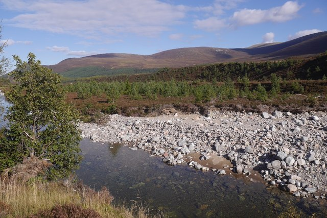 River Feshie after the spates