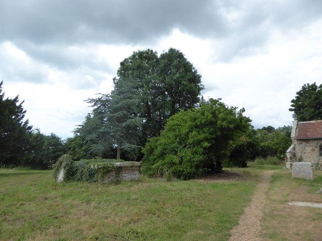 St Oswald, Hooe: churchyard (b)