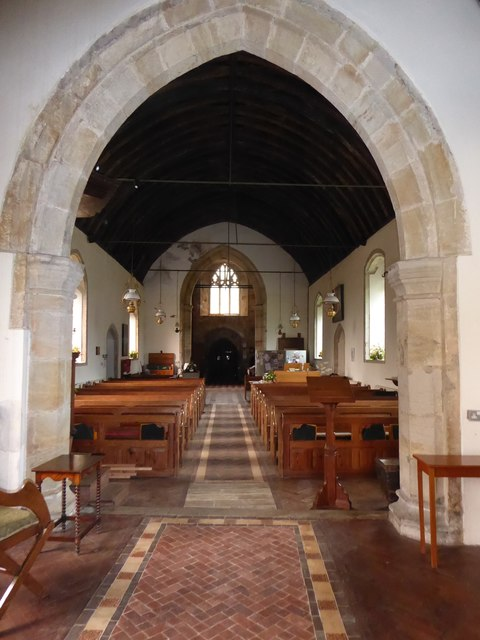Inside St Oswald, Hooe (d)