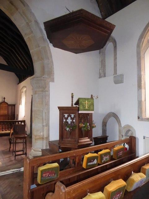 Inside St Oswald, Hooe (e)