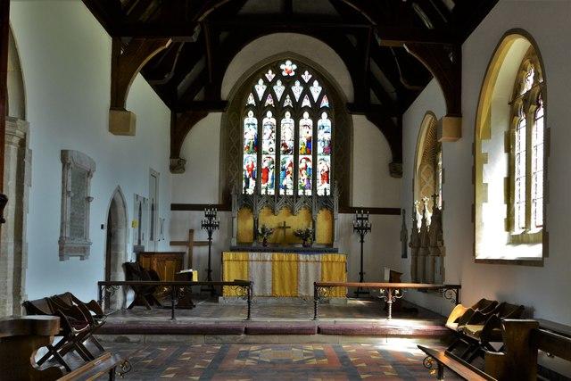 Quainton, Holy Cross and St. Mary Church: The chancel