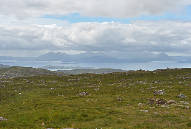 View to the Misty Isle from the viewpoint