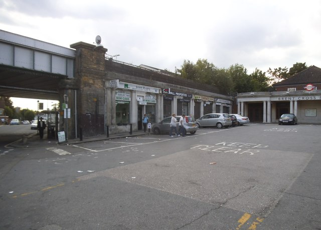 Shops by Brent Cross Station