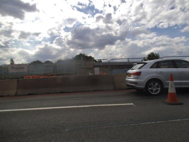 New bridge works on Gunnersbury Avenue