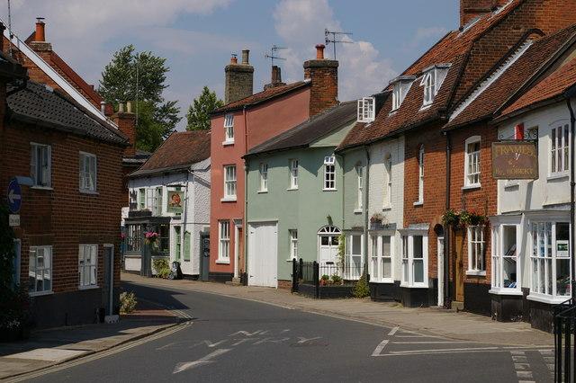 New Street, Woodbridge