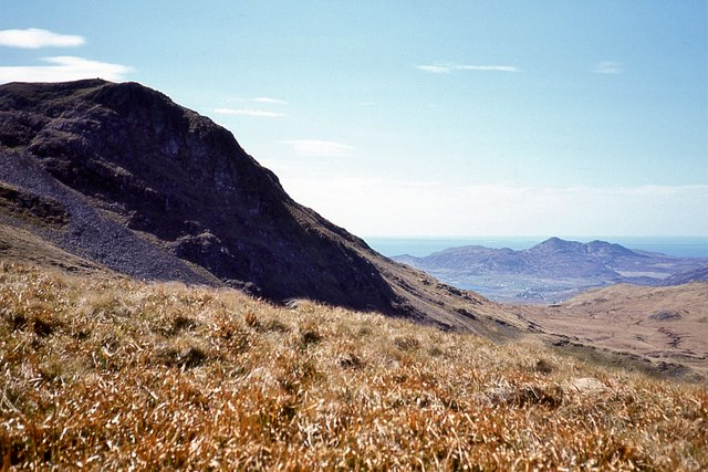 The east face of Ben Hiant