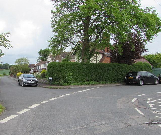 Fork in Grove Road, Lydney