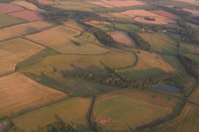 Northdale Carr, Langton-by-Partney: aerial 2017