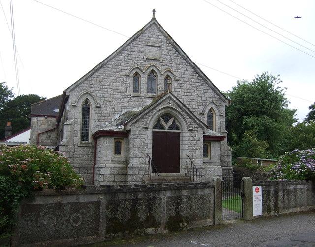 Church of St John the Baptist, Godolphin Cross