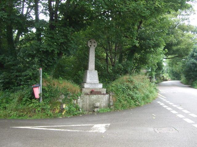 War Memorial, Godolphin Cross