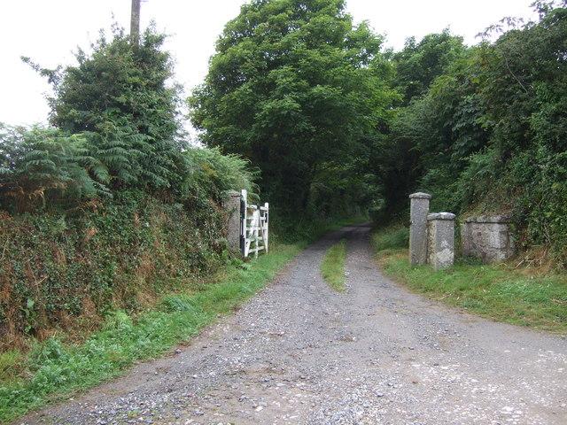 Track (footpath) to Trenear