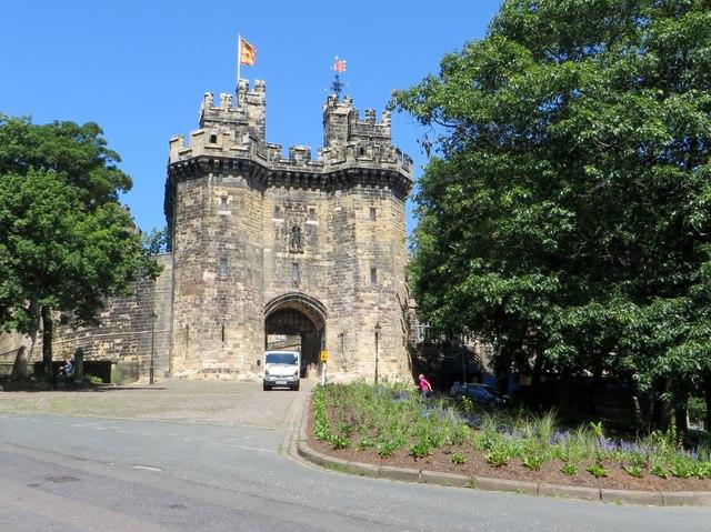 Gate to Lancaster Castle