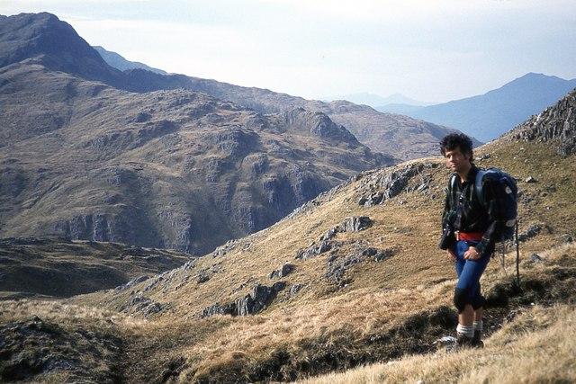 Ascent of the north ridge of Luinne Bheinn