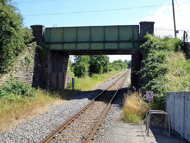 View south from Chetnole Station