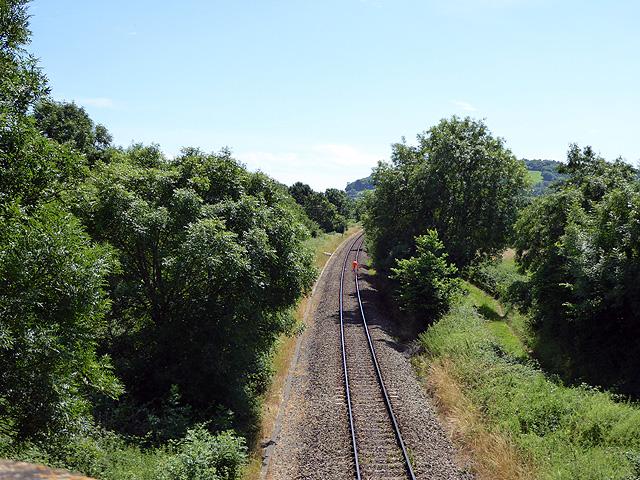 The line to Dorchester