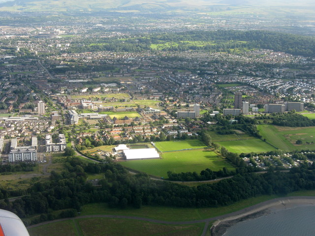 Muirhouse from the air