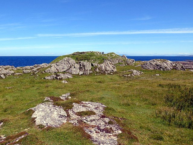 Dun Mor from south-west