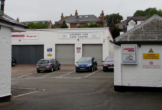 Unipart Car Care Centre, Exmouth