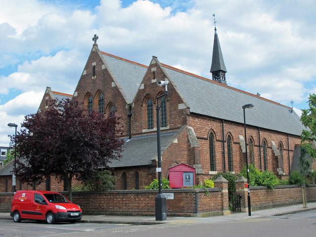 The Parish Church of St. Thomas the Apostle, St. Thomas's Road, N4