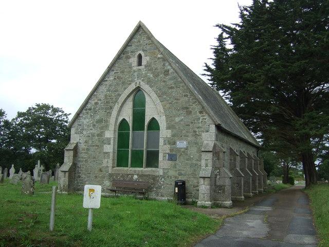 Cemetery chapel, Helston