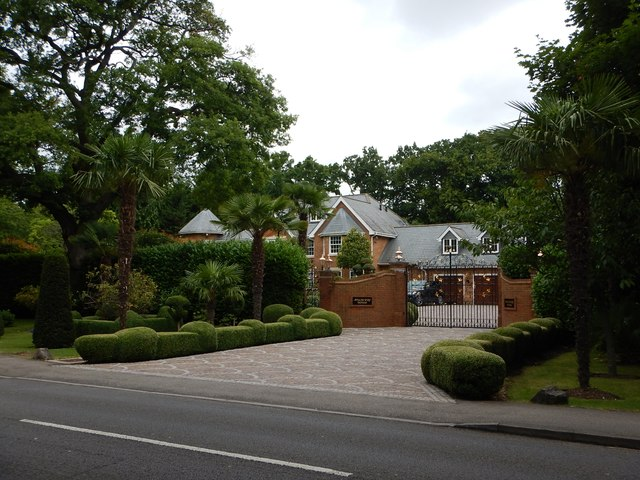 Virginia Water - Stately House on Christchurch Road