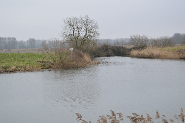 Confluence, River Great Ouse and River Wissey